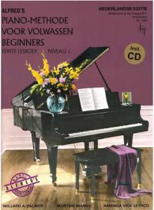Alfred's Piano-Methode voor volwassen beginners