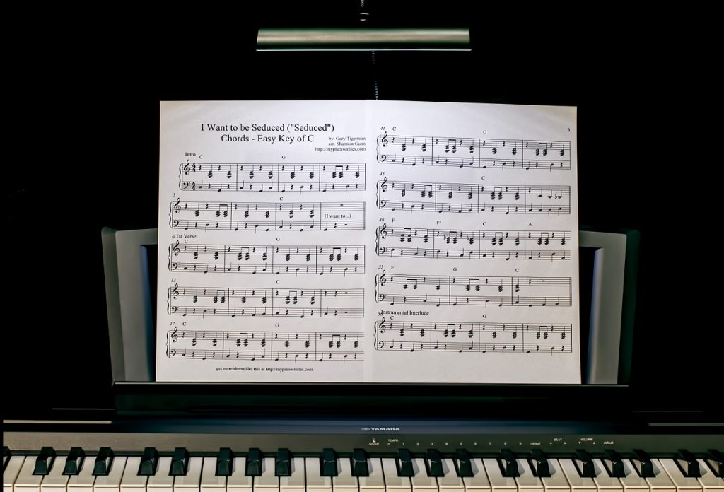 pianomuziek leren spelen