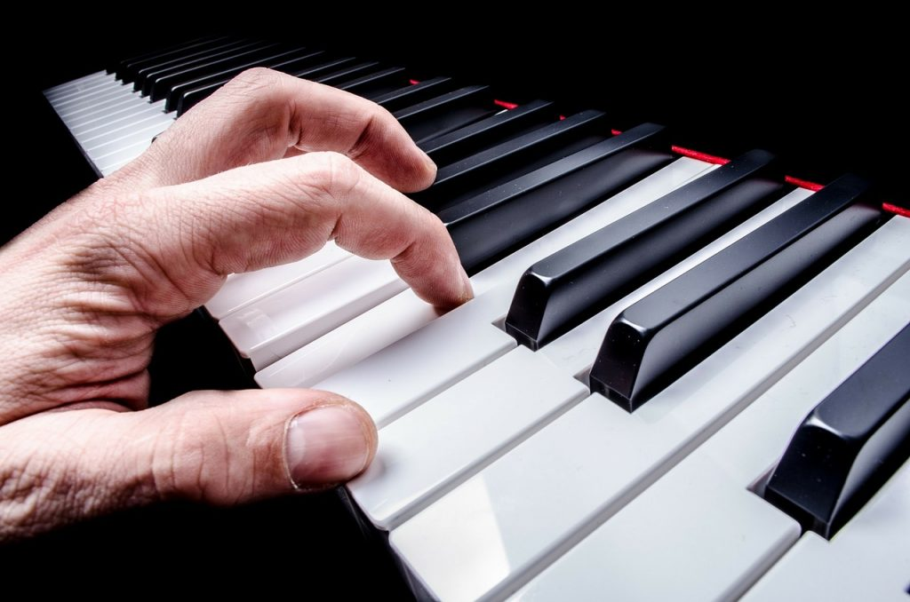 vingerzetting op de piano